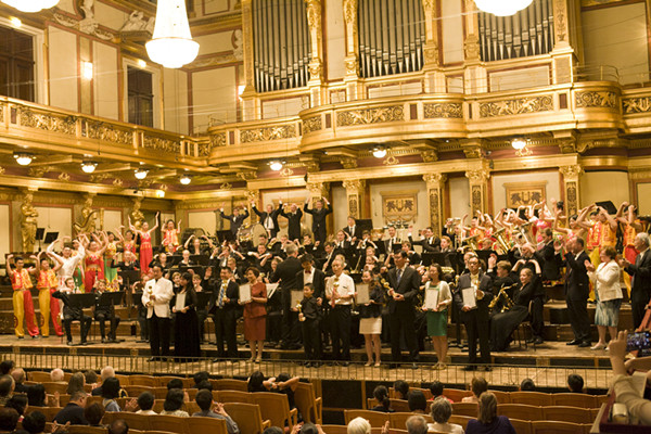 2015 The World Orchestra Festival successfully held in Vienna - NEWS